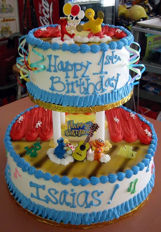 Piggly Wiggly Birthday Cakes